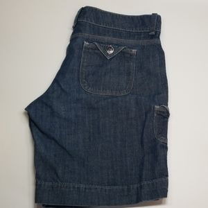 Lee One True Fit Jean Shorts Lower On Waist